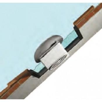Dachmontage an Fenster und Paneelen – Fenster-/ Paneel-Montage mit externer Haube als Windschott Varip