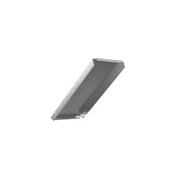 Enddeckel Flachkanal stahl verzinkt